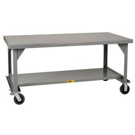 Little Giant® Mobile Heavy-Duty 7-Gauge Steel Workbenches