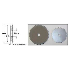 Steel Sprockets No. 25, 1/4 Inch Pitch - Type A