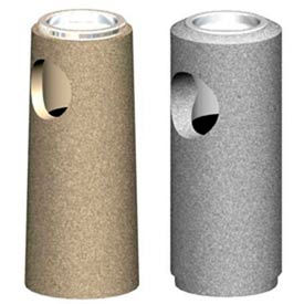 Round Concrete Cigarette Receptacles