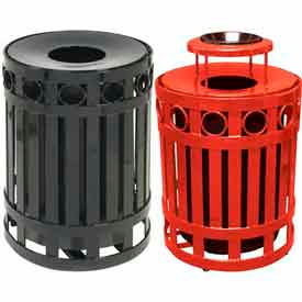 Ring Metal Waste Receptacles