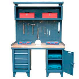 Heavy Duty Cabinet Workbench