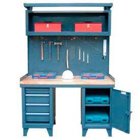 Heavy Duty Cabinet Workbench