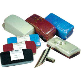 Scrubble® Utility Cleaning Pads & Holder