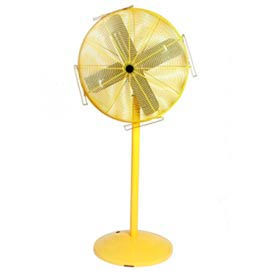 Airmaster Pedestal Fan - Yellow Safety Fan