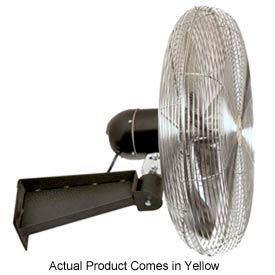 Airmaster Wall Mount Yellow Safety Fan