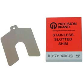 Stainless Steel Slotted Shims