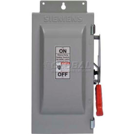Heavy Duty Safety Switches, 240 Volt, 2-Pole, Fusible