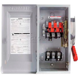 Heavy Duty Safety Switches, 240 Volt, 3-Pole, Fusible