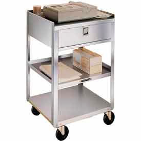 Lakeside® Stainless Steel Mobile Medical Equipment Carts