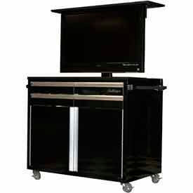 Mobile HD Television Tool Chest Cabinets