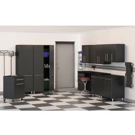 Ulti-MATE Garage Complete Storage Systems - Gray/Black