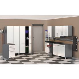 Ulti-MATE Garage Complete Storage Systems - Pearl/Gray