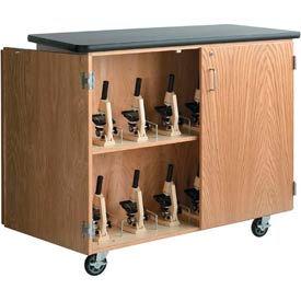 Diversified Woodcrafts -  Microscope Storage Cabinet