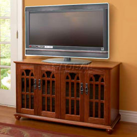 Leslie Dame -  Leslie Dame - Solid Oak Veneer Flat Panel TV Consoles