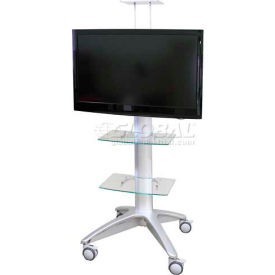 Buhl Industries - Rolling Flat Panel TV Stand