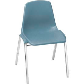National Public Seating® Poly Shell Stack Chairs
