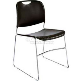 National Public Seating® Hi-Tech Ultra-Compact Stack Chairs