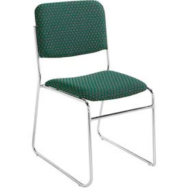 National Public Seating® Signature Fabric Padded Stack Chairs