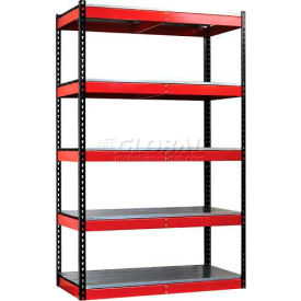 "Hallowell - Fort Knox Rivetwell Shelving Units 78"" High"