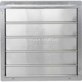 Low Velocity Exhaust Shutters
