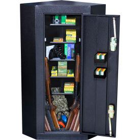 Homak Corner 10 Gun Steel Security Cabinet