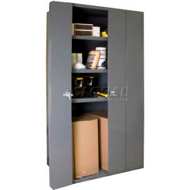 Bi-Folding Door Heavy Duty Storage Cabinets