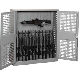 Datum Rifle & Pistol Weapons Counter Height Storage Cabinets