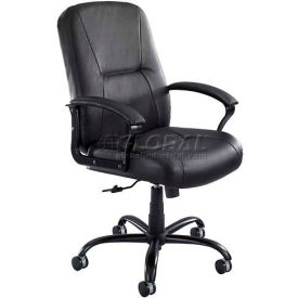 Safco® Serenity™ Big And Tall Leather Chair