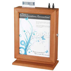 Safco® - Customizable Wood Suggestion Box