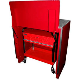 Homak Service Cart Locker