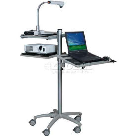 Mobile Laptop/LCD Pole Carts