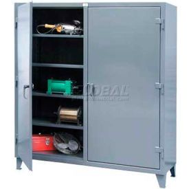 Stronghold® Heavy Duty Double-Door, Independent Locking Cabinets