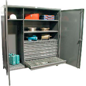 Stronghold® Heavy Duty, Wide Drawer Storage Cabinets