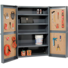 All Welded 12 Gauge Heavy Duty Pegboard Storage Cabinets