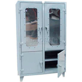 Stronghold® Combination Clearview & Solid Door Cabinets