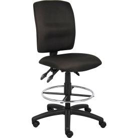 Boss Chair - Fabric Drafting Stool