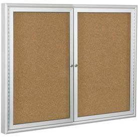 Best-Rite® Outdoor Enclosed Bulletin Board Cabinets