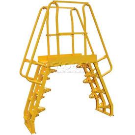 Alternating Step Cross-Over Ladders