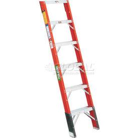 Green Bull® Fiberglass Shelf Ladders