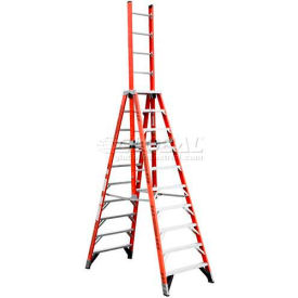 Werner® Fiberglass Extension Trestle Ladders