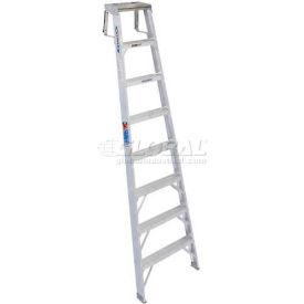 Werner® Aluminum Shelf Ladder