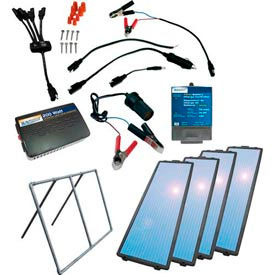 SunForce® Solar Powered Back-Up Kits
