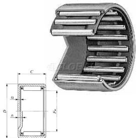 Shell Type Needle Roller Bearing - INCH, Closed End