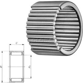 Shell Type Needle Roller Bearing - INCH, Grease Retained