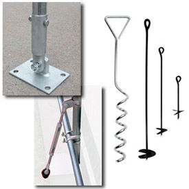 Canopy Accessories - Anchors, Mounting Feet etc.