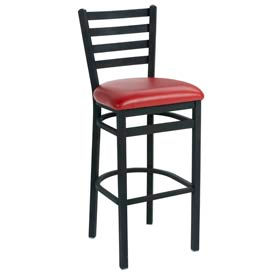 Premier Hospitality Furniture - Slatted Back Metal Bar Stools