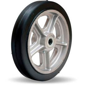 Hamilton Black Rubber on Aluminum Wheels