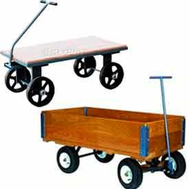 Wood Deck Wagons