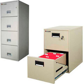 Sentry® Safe - Vertical Fire Rated File Cabinets