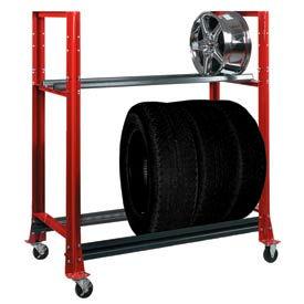 Shure® Tire Carts & Racks
